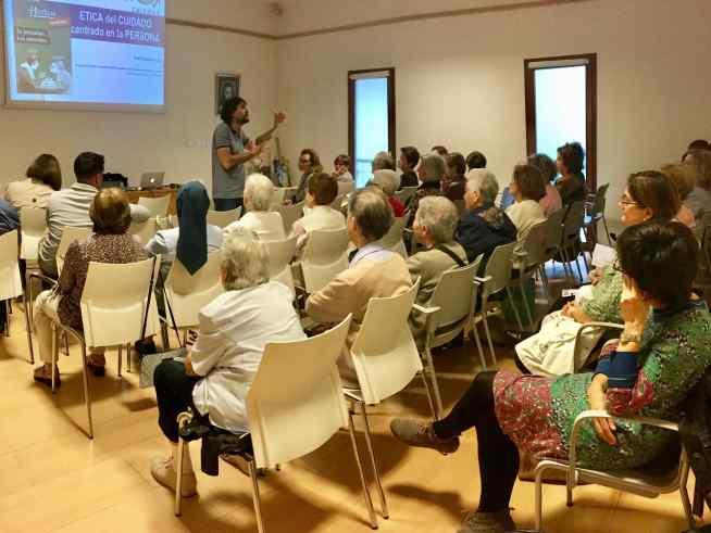 Sesión formativa de voluntariado