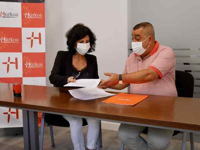 Hurkoa y Matía refuerzan su colaboración para mejorar la labor del voluntariado