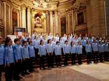 Concierto benéfico del Orfeón Txiki y Juvenil, a favor de Hurkoa